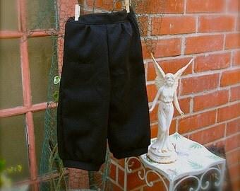 Black Knicker 7-9yrs or 10-12yrs old Black Knicker Pants for little boys, Knicker Pants, ringbearer knicker pants
