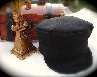 Train conductor hat etsy mens black conductor hats for men black train hat for men train conductor hat pronofoot35fo Gallery