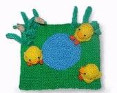 little ducks in the forest PDF crochet pattern amigurumi toy
