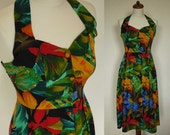 Vintage Summer Dress // 80s does 50s