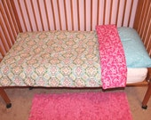 CREATE YOUR OWN Toddler Girl Reversible Comforter and Pillow Case
