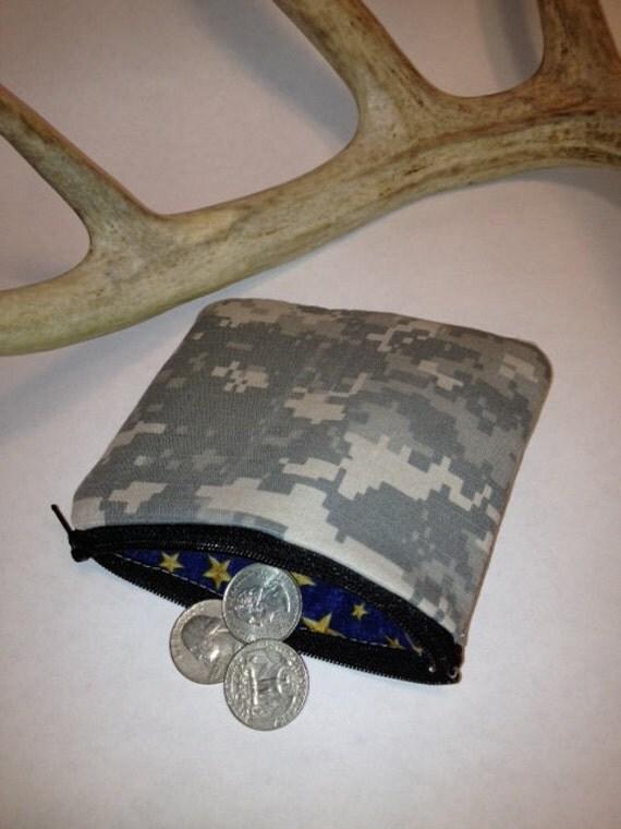 Military Coin Purse