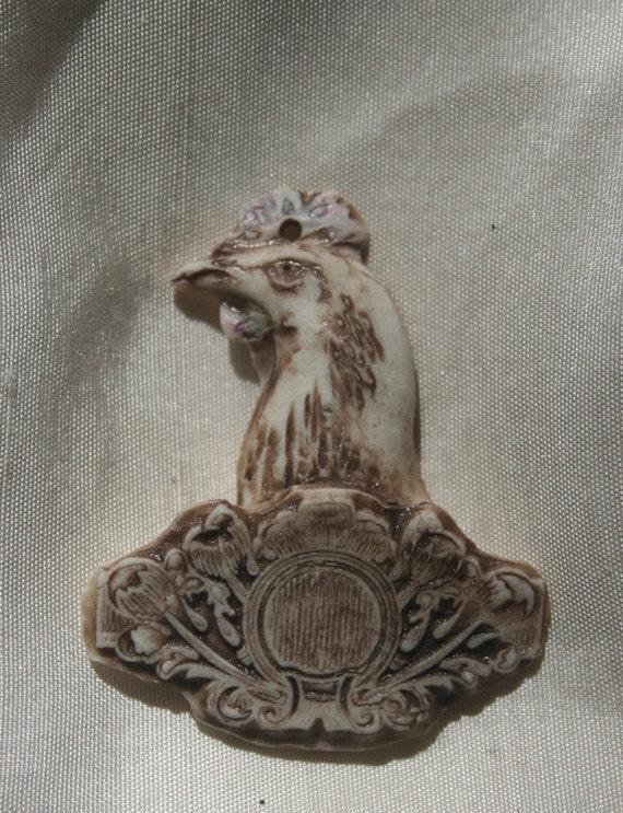 Chicken Award Pendant
