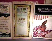 3 Rare Odd Maps New Jersey Cape May County w 1983 A.L.Patton Inc. Map   3 Lot