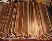 "60 Rare Vintage Victorian New Jersey Wood Lath Planks ( 14"" ) x 1 1/2"" Blanks Lathe"