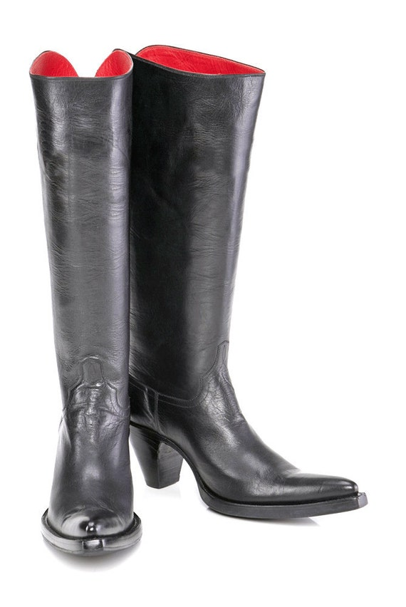 CUSTOM - The LA REYNA boot - cowboy couture meets modwestern luxe