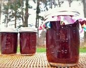 Homemade Peachberry Jam - Peach, Blackberry, and Raspberry