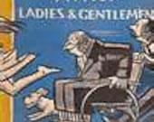 Hardcover Book Peter Armo's 1951 Ladies and Gentlemen Famous Cartoons