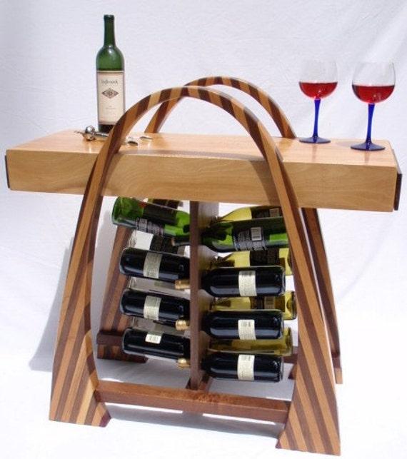 Curvy Wine Rack