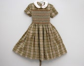 French hand-smocked dress