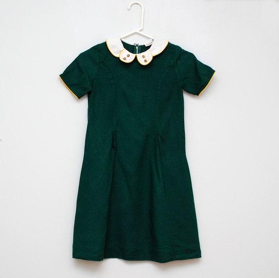 SALE: Vintage green '60s dress