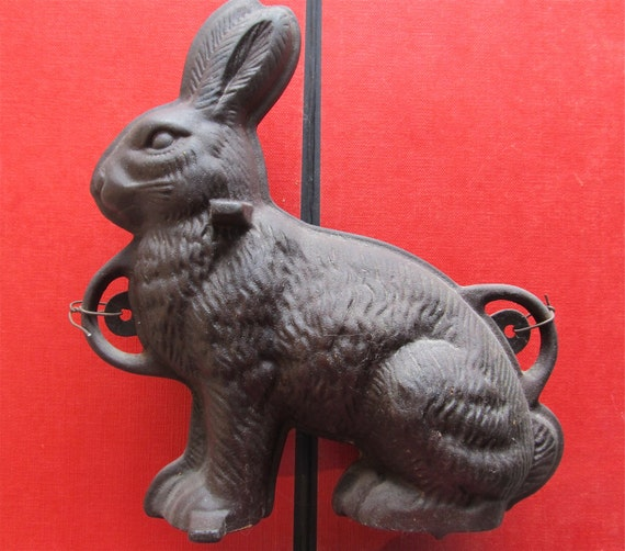 Iron Bunny Rabbit Mold Reserved do not purchase