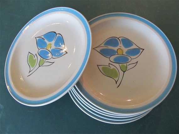 Morning Glory Plates