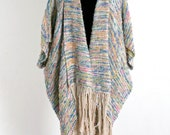 Cocoon Coat in Pastels