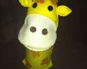 Giraffe Felt Puppet