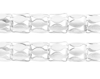 081- Network chain, silver color 1.9mm thick (3 meter)