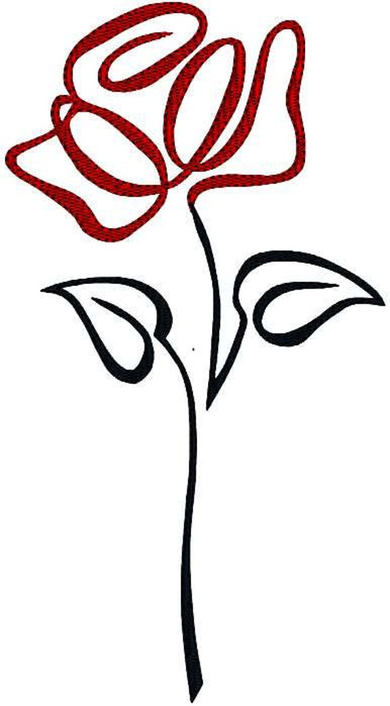 Single Stem Rose Tattoo | www.imgkid.com - The Image Kid ...