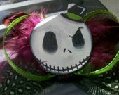 Nightmare Before Christmas Feather ( Bow )