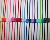 Choose 20 Skinny Elastic 1/8 Inch Headbands Set - Interchangeable - Great Alone or With a Hair Bow - LOTS of COLORS - Super SPEEDY Shipping
