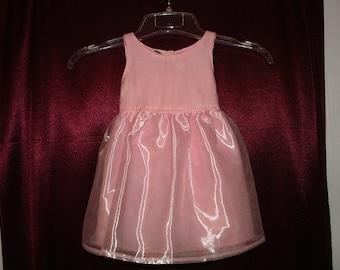 Rose/Pink Elegant Flower Girl Dress Size 18 Months - 0.01 Shipping Cost