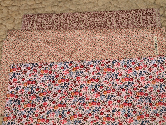 Old Fashioned Floral Fabric