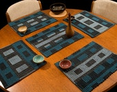 Handwoven Cotton Placemats - Set of 5