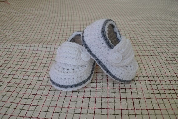 Two button loafers christening baptism baby booties/shoes (size 0-3m, 3-6m, 6-9m, 9-12m) --- available in different colors
