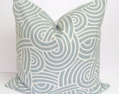 Pillow.Gray Blue.20x20 inch.Decorator Pillow Cover.Free Shipping