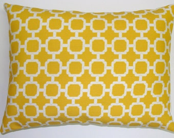 PILLOW.YELLOW PILLOW.12x16 or 12x18 inch.Pillow.Decorative Pillows.Housewares.Yellow Outdoor..Indoor.Outdoor.Yellow Cushion Cover.Pillow.Cm