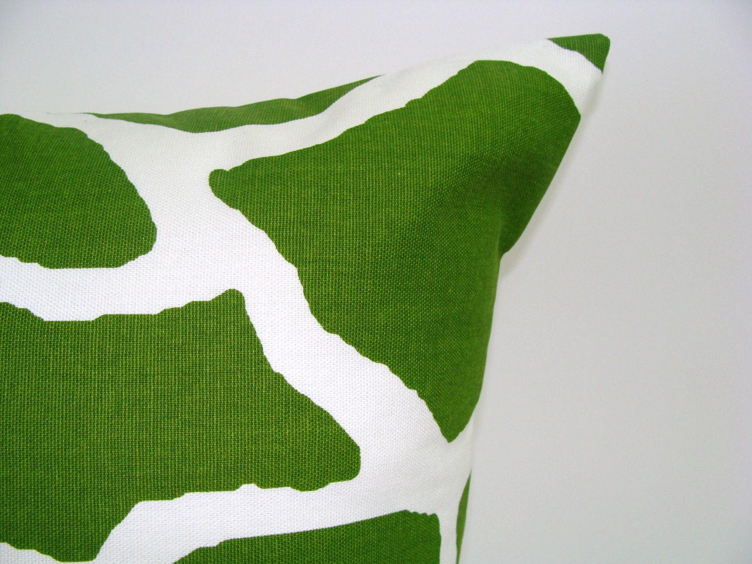 Pillow Sale Green Pillow 12x16 Or 12x18 Inch Lumbar Pillow