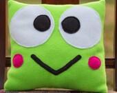Sanrio Keroppi Fleece Pillow - MADE TO ORDER