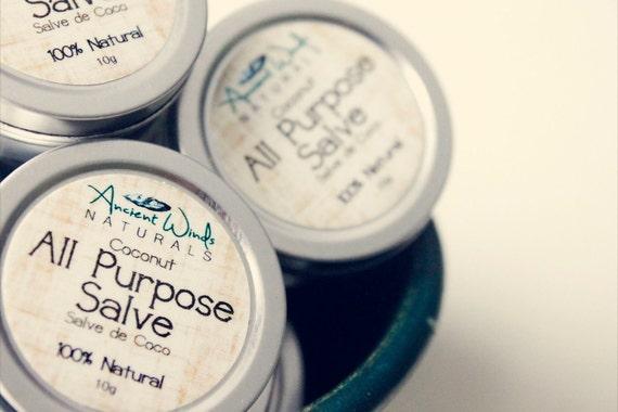 MINI All Purpose Salve (.5oz.). 100% Natural.