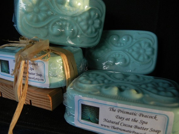 Natural Cocoa Butter Soap, Day at the Spa Scented