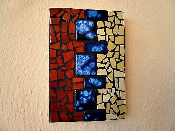 Tile mosaic wall art