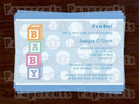 Printable diy baby blocks theme polka dot boy blue personalized baby il570xn filmwisefo