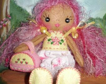 Pixie Petal Felt Doll Pattern Pdf