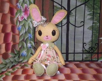 Bunny Felt Doll Pdf epattern