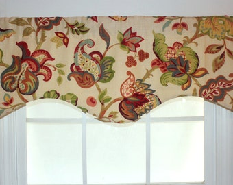 Florann Garden Shaped Valance