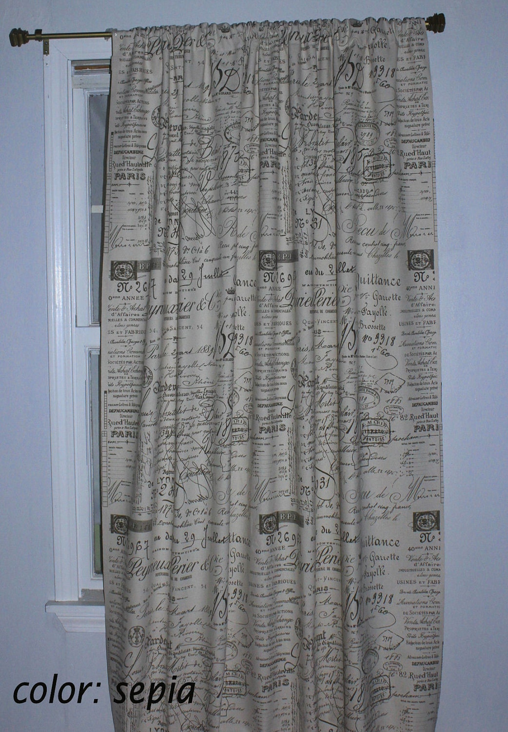 French curtain panels -  Zoom