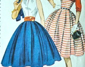 1950's Simplicity Blouse, Skirt and Jacket Pattern - Bust 28 - no. 3863