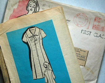 1960's Mail Order Dress Pattern - Bust 41