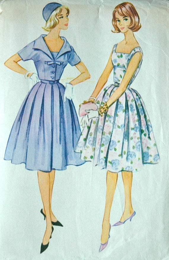 1960's McCalls's Dress and Jacket Pattern - Bust 32 - no. 5695