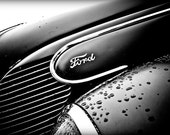 classic car, hot rod, ford, 8x10 inch print