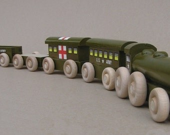 Wooden Army Train, World War II