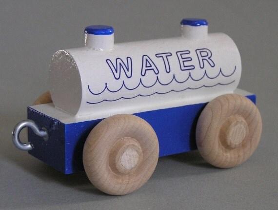 Wood Car Water : Wood toy train water car