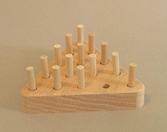 Cracker Barrel Toys : Wooden pegboard game cracker barrel a toy