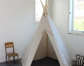 6 ft Fold Away Canvas Teepee