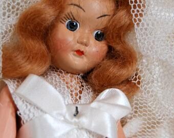 Vintage Bride Doll Ar-Doll Creation