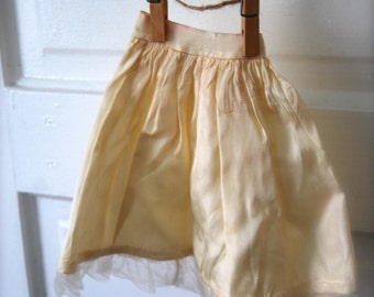 Vintage Doll Clothing Silky Slip