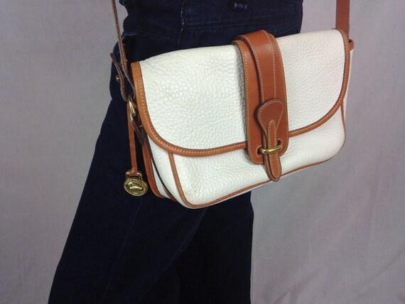 Dooney & Bourke Bag - White and Tan